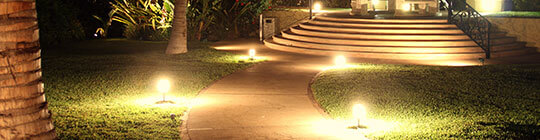 Outdoor Lighting Installation